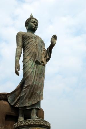 Buddha statue at Phuttamonthon, Nakhon Pathom Stock Photo - 16166069