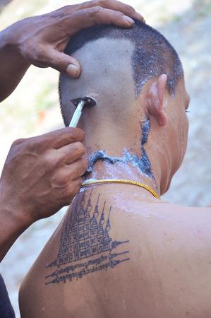 shaved: Naga shaved Editorial