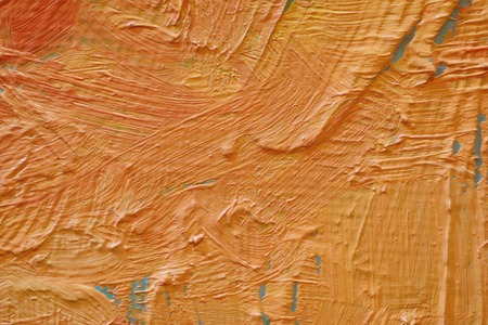 Painting closeup texture background with  red, gray, white, brown, orange  colors for vivid colorful creative backgrounds. Oil on canvas.
