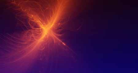 Abstract red light and laser beams, fractals  and glowing shapes  multicolored art background texture for imagination, creativity and design. Reklamní fotografie