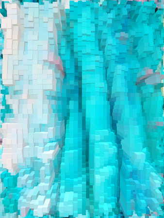 Colorful vivid cubes dynamic and vibrant background for interesting and creative ideas. Suitable for web and print.