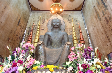 Big ancient buddha