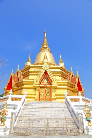 Golden thai pagoda