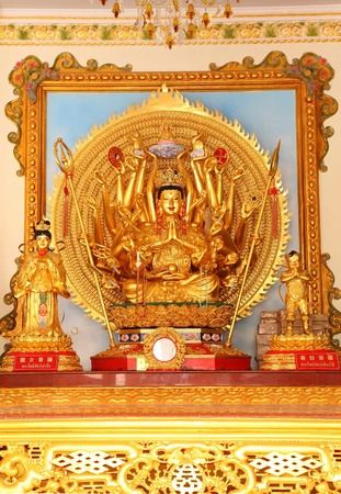 1000 hands of Guan im Buddha Stock Photo - 13027510