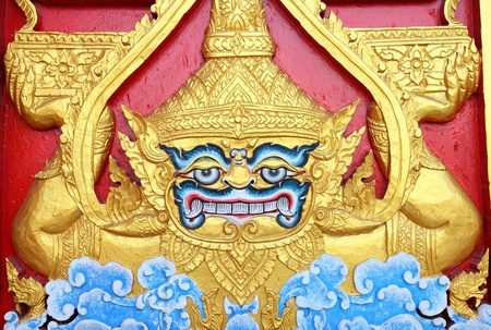 annals: Wood handcraft giant at Thailand temple