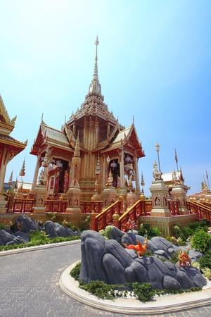 bejaratana: Place for Royal Cremation of Her RoYal Highness Princess Bejaratana in Bangkok, Thailand