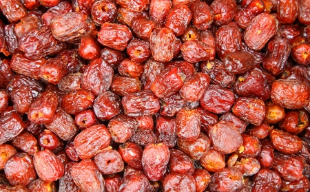 pitted: Pitted Chinese jujubes dried