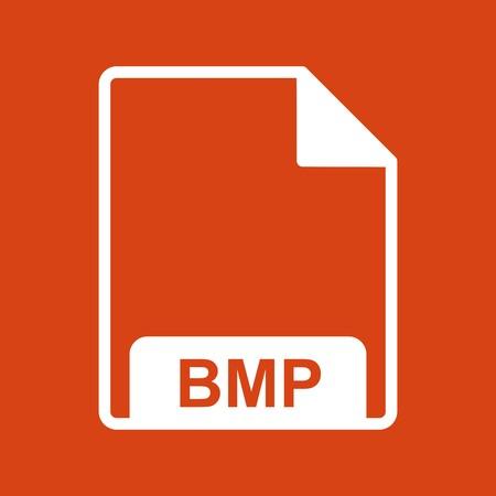 Vector BMP Icon Stock Vector - 118680741