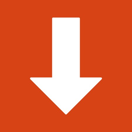 Vector Down arrow Icon