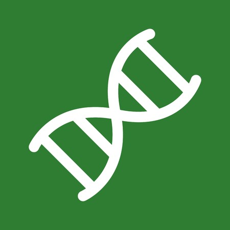 Vector DNA Icon Çizim