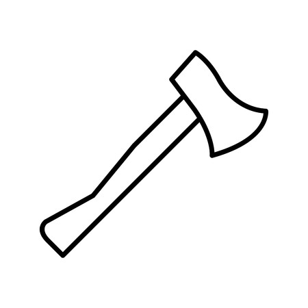 Vector Axe Icon Çizim