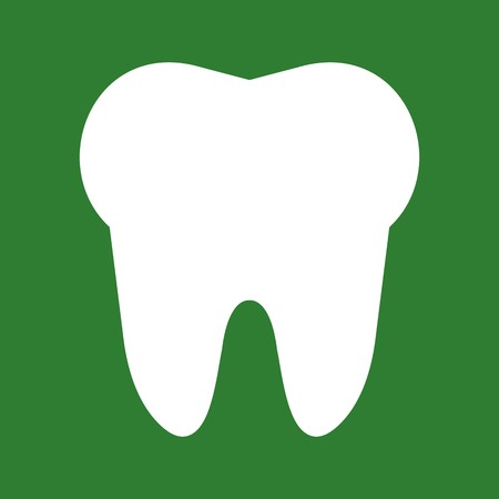 Vector Tooth Icon Çizim
