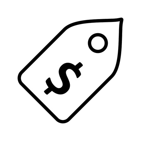Vector Price Tag Icon