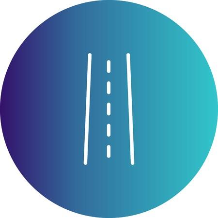 Vector Road Icon  Çizim