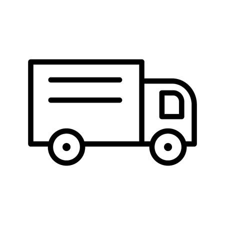 Vector loader Truck Icon
