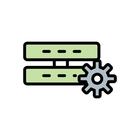 Vector Server Setting Icon