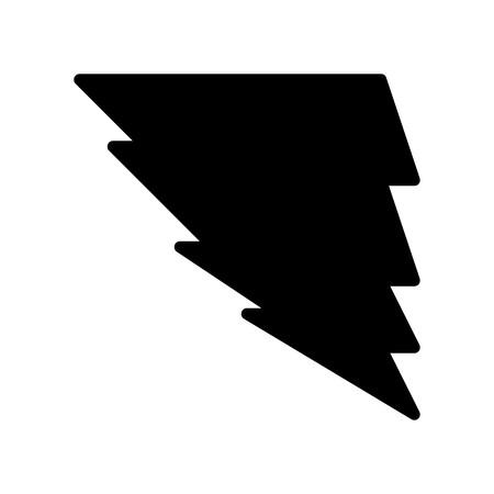 Vector Tornado Icon Ilustrace