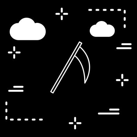 Vector Scythe Icon