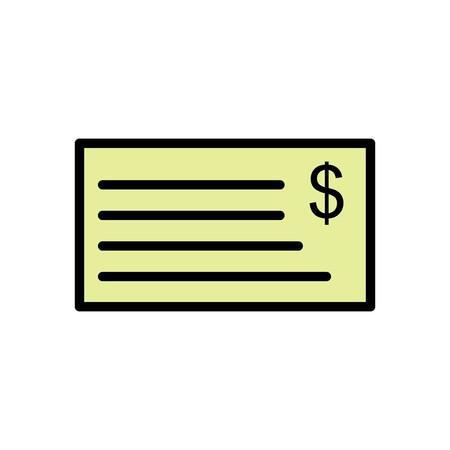 Vector Cheque Icon