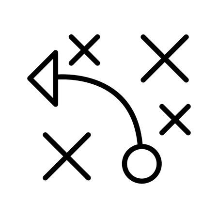 Vector Tactics Icon
