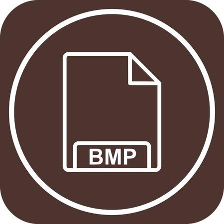 Vector BMP Icon