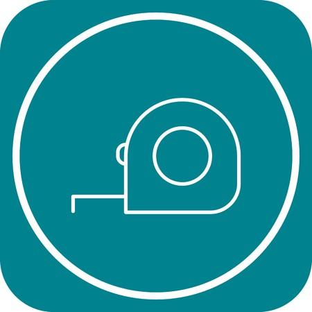 Vector Measuring Tape Icon