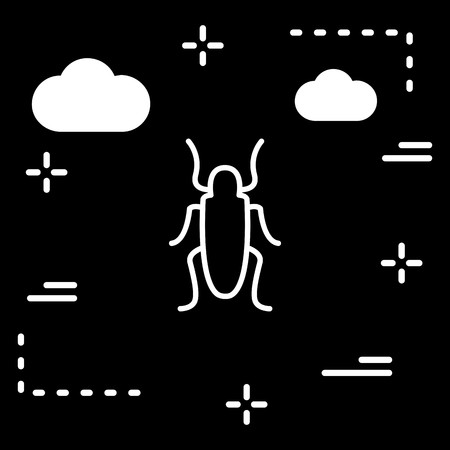 Vector Cockroach Icon