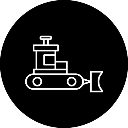 Vector Snow plow Icon