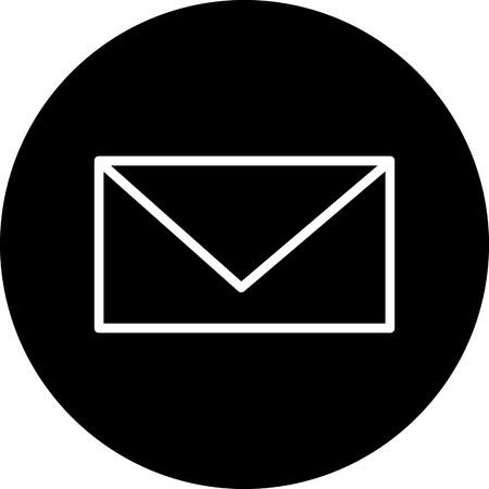 Vector Message Icon Reklamní fotografie