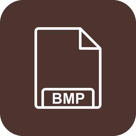 Vector BMP Icon Stock Photo