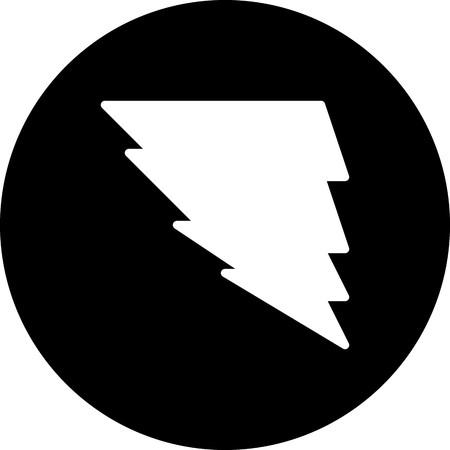 Vector Tornado Icon Çizim