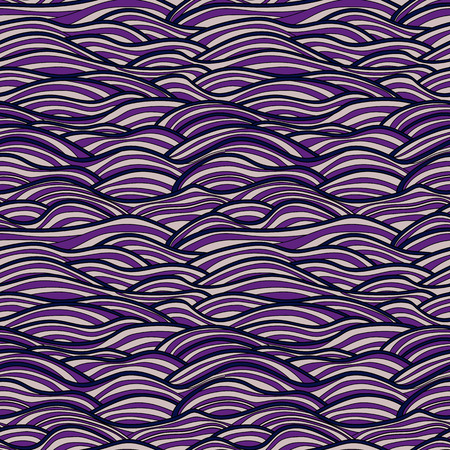 gale: Seamless pattern, vector abstract waves texture. Colorful sea  background can be used for wallpaper, pattern fills, web page  background, surface textures, print on fabric