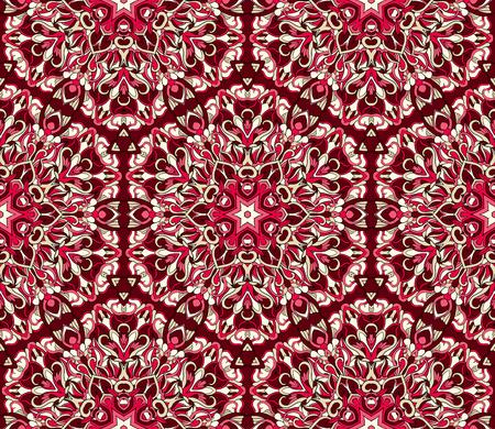 70289147 nahtloses stammes abstraktes muster fr druck auf stoff oder papier hand gezeichneter hintergrund - Bastelpapier Muster