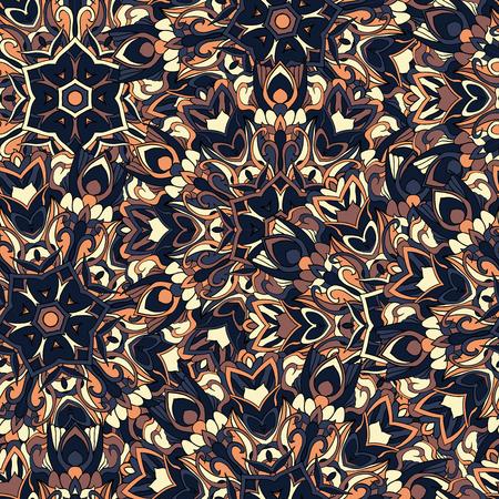motif abstrait sans soudure pour l'impression sur tissu ou de papier. Hand drawn fond.