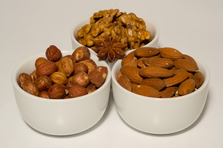 mixture: Mixture of nuts Stock Photo