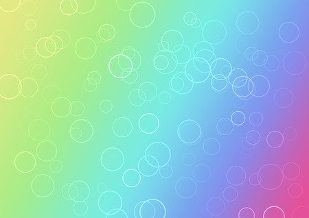 Abstract color gradients background with circles photo