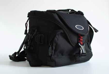 medium size: Medium size black modern practical photo-bag