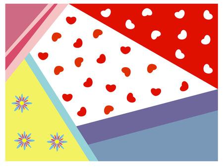 energizing: Energizing valentine background