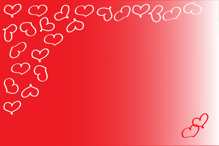 energizing: Energizing red valentine background Stock Photo