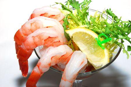 Shrimp Cocktail Reklamní fotografie