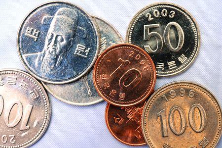korean currency Banco de Imagens - 3379101