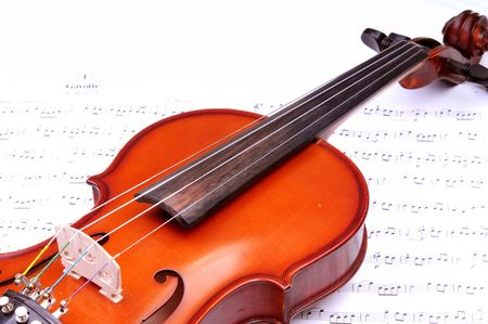 vow: violin Stock Photo