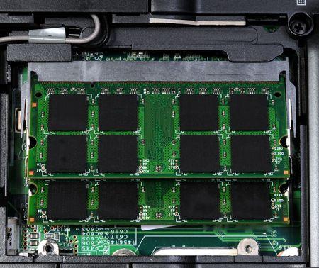 notebook memory in laptop Stock fotó