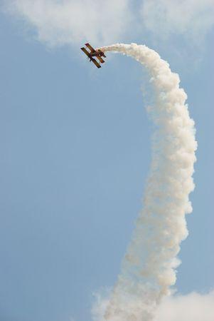 air show Reklamní fotografie