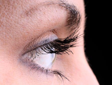 eye closeup