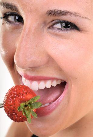 Eating fruits Stock Photo - 3560399