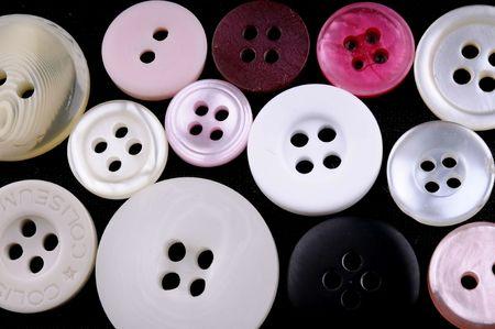 tailored: button Stock Photo