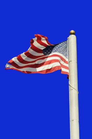 sates: american flag Stock Photo