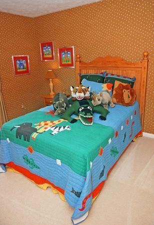 bedroom Standard-Bild