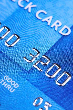 payable: credit card Stock Photo